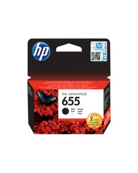 HP 655 Black Original Ink Cartridge CZ109AE