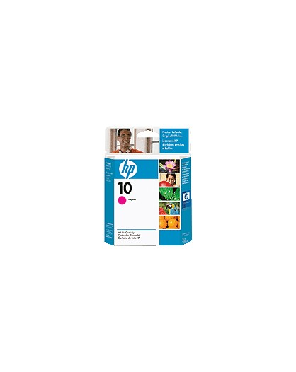 HP 10 Magenta Original Ink Cartridge C4843A