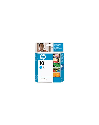 HP 10 Cyan Original Ink Cartridge C4841A
