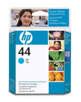 HP 44 Cyan Original Ink Cartridge 51644