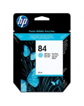 HP 84 69-ml Light Cyan Original Ink Cartridge C5017A