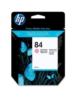 HP 84 69-ml Light Magenta Original Ink Cartridge C5018A