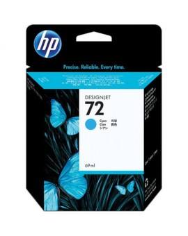 HP 72 Cyan Original Ink Cartridge C9398A