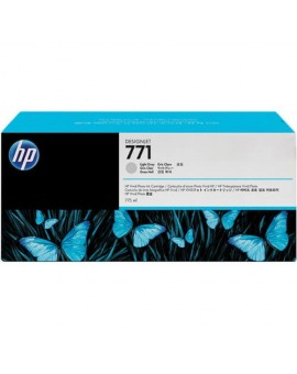 HP 771 775-ml Light Gray Original Designjet Ink Cartridge CE044A