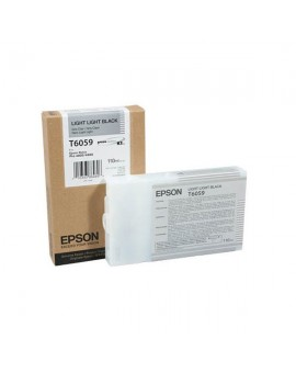 Epson T6059 Light Light Black Ink Cartridge- Singlepack