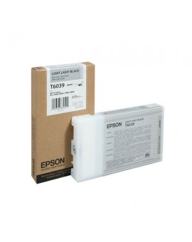 Epson T6039 Light Light Black 220 ml Ink Cartridge- Single Pack